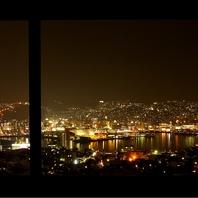 稲佐山中腹からの夜景