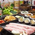 料理メニュー写真【NEW】アワビサムギョプサル(2~4名様用)