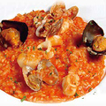 料理メニュー写真海の幸のリゾット
