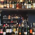 豊富なお酒の数々★クラフトビールやウィスキー・カクテルまで幅広くお作りすることができますよ♪