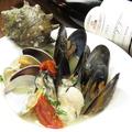 料理メニュー写真本日の貝だけで作ったアクアパッツァ