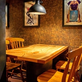 カーテンで仕切ることのできるテーブル席でのディナーも雰囲気抜群☆洗練されたデザイナーズ空間は、名古屋駅での女子会やデートにもぴったり!