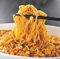 きじま屋の人気メニュー!特製の中華麺に麻婆か絡む〆にぴったりの一品です!