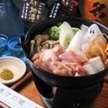 料理メニュー写真三河 錦爽鶏の柚子胡椒鍋