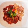 料理メニュー写真食べ比べ生ハム スペイン VS イタリア