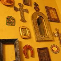 メキシカンスタイルの装飾は異国を感じさせます♪