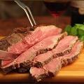料理メニュー写真上州和牛のローストビーフ