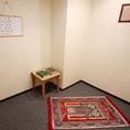 ムスリムの方も安心☆専用のお祈り部屋完備 【飲み放題/歓送迎会/ランチ/ビール】