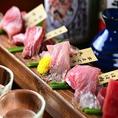 【まぐろ食べ比べ】様々な鮪の種類や部位を思う存分楽しめる!贅沢なひとときをご堪能あれ!