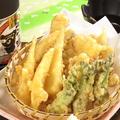 料理メニュー写真季節の天ぷら盛り