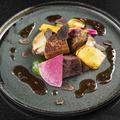 料理メニュー写真宮崎県産 黒毛和牛のロッシーニ風