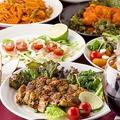 料理メニュー写真最大3時間飲み放題付コース2480円~旬のお料理をお愉しみ下さい。