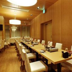 30名様着席可能な宴会個室。少人数での各種ご宴会にピッタリな個室もご用意ございます!
