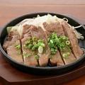 料理メニュー写真ねぎ塩牛タンステーキ