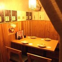 個室もあります★木造りの大人な店内