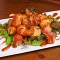 料理メニュー写真海老とプチトマトのフリット