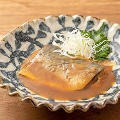 料理メニュー写真とろさばの味噌煮