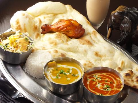本場インド家庭料理が食べられる♪ランチにもディナーにもご自慢のカレーを堪能あれ☆
