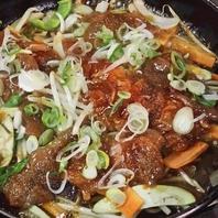 ヘルシーなジンギスカンと豚ちゃん鍋(食べ放題OK)