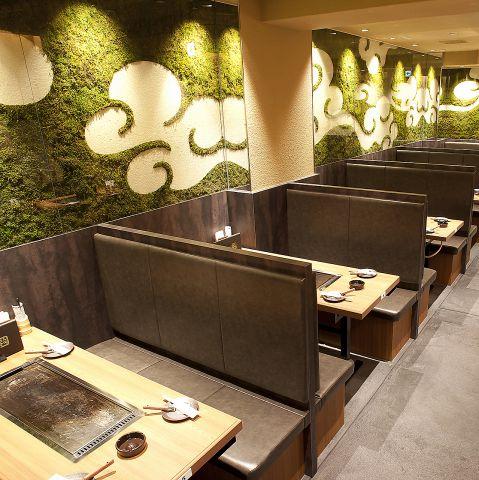 お好み焼き・鉄板焼き  DONGURI(どんぐり)  京都駅前・東店 店舗イメージ4