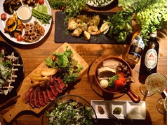 Daily Restaurant PAULO&Boruga パウロ&ボルガのコース写真