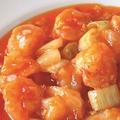 料理メニュー写真大エビのチリソース