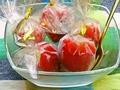 料理メニュー写真苺と練乳アイス 5個