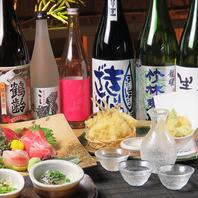 季節の限定酒と新潟の食材や郷土料理をお気軽にどうぞ