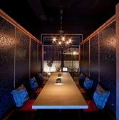梅田にある全席個室の居酒屋「流れの響き」ではお客様の人数に合わせて個室をご用意しておりますので、2名様でも大人数様でのご利用でも最適です♪落ち着いたおしゃれな店内で素敵なご宴会のひと時をお過ごしください。夜景の見える個室は大変人気ですので、ご予約はお早めに♪