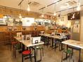 【串カツ田中 高崎駅 西口店】では6名様でご利用いただけるテーブル席もございます。