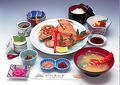 料理メニュー写真焼き魚定食(金目鯛)
