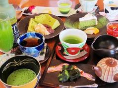 Green Tea Fields【約20種の日本茶やお茶を使ったスイーツメニューが充実】