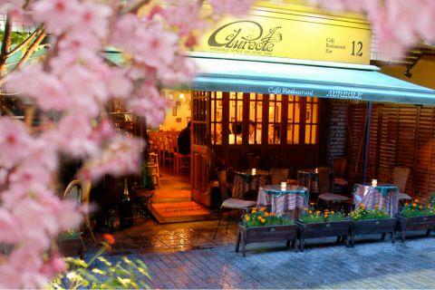 ヨーロッパ郊外の森の中にある家庭的なカフェ・レストランをイメージしたお店♪