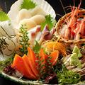 料理メニュー写真北の刺身大漁五点盛り