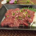 料理メニュー写真復活人気料理 宮崎産若鶏 朝〆レバーの炙り(和製フォアグラ)