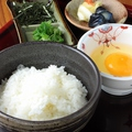 料理メニュー写真姫路夢美人卵の卵かけご飯