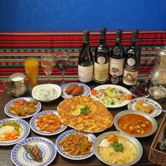 クルド家庭料理 メソポタミアの写真