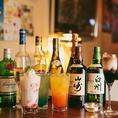 飲み放題も全40種類をご用意!お気に入りのお酒にであえるかも◎道玄坂で遊んだ後や、二次会にピッタリな店内になっております。
