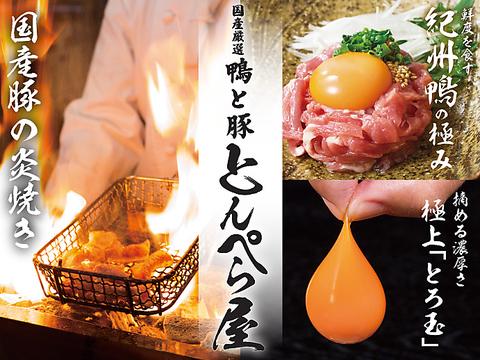厳選紀州鴨×厳選国産豚×とんぺら焼きのお店