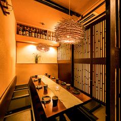 厳選鍋と地鶏炭火焼個室 羽根川 八重洲日本橋店の雰囲気1