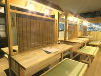 久留米名物の屋台とお店のコンセプトの畳を融合!
