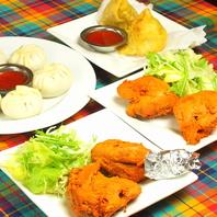 インド・ネパール料理の居酒屋メニューも豊富