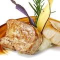 料理メニュー写真季節調理のフォアグラ