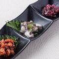 料理メニュー写真小鉢3種盛合わせ