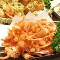 料理メニュー写真鹿児島湾小エビの素揚げ