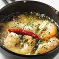 料理メニュー写真海老ときのこのアヒージョ