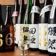 新小岩の居酒屋で数量限定の日本酒や焼酎が飲める