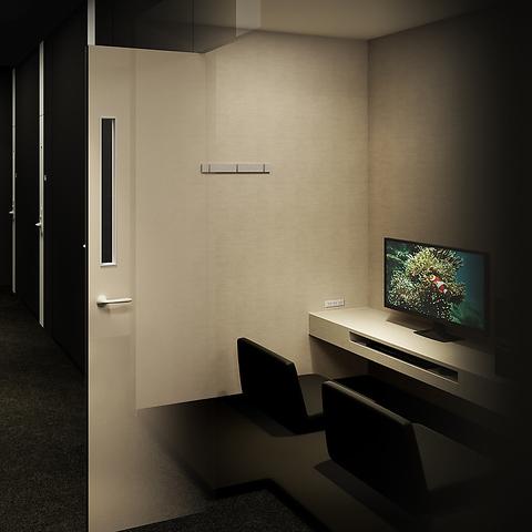 鍵付き完全個室・プライベートルーム3時間パック