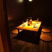 【1階】4名様で利用可能の個室