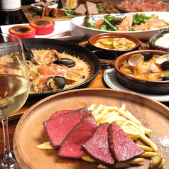 地中海料理 ウラロビー uralobbyのコース写真